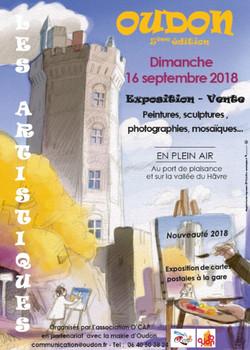 Affiche Les Artistiques 2018