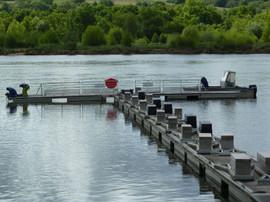 HISTOIRE  ET FONCTIONNEMENT  •C'est au milieu du XIXe siècle, à l'occasion de la création de la voie ferrée, que le port d'Oudon a été établi dans sa configuration actuelle, à la confluence de la rivière du Hâvre avec la Loire. Compte t