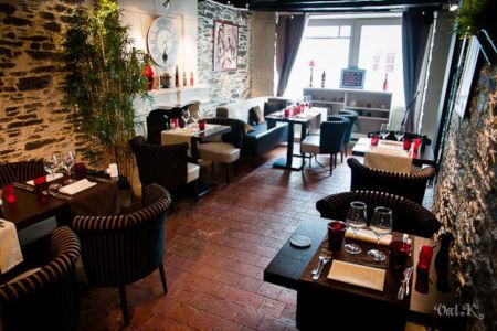Salle restaurant La Villa St Germain Oudon