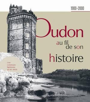 Couverture livre Oudon au fil de son histoire